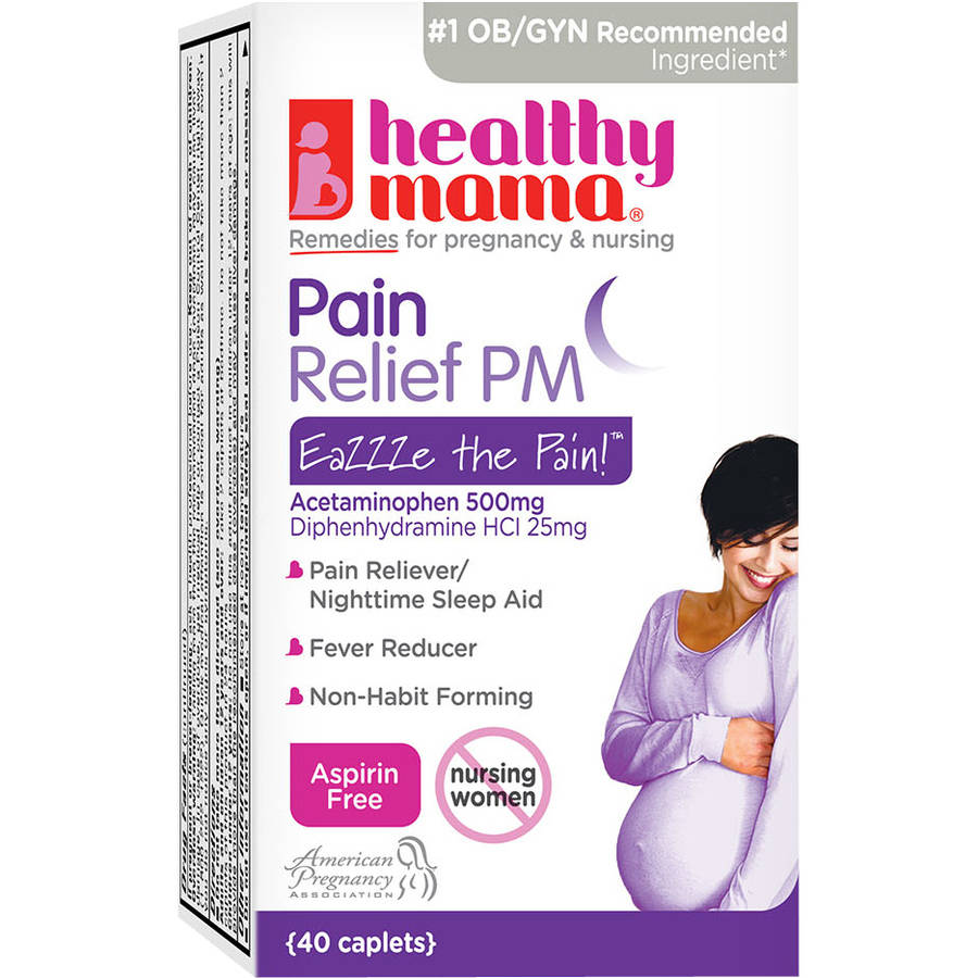 Healthy Mama  EaZZZe the Pain! Pain Relief PM, 40 count