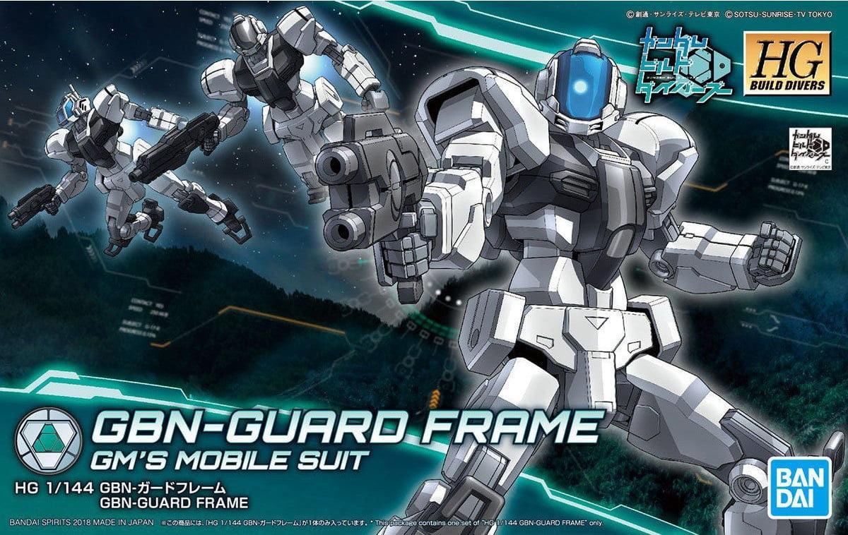 Bandai Hobby Gundam Build Divers GBN-Guard Frame HG 1 144 Model Kit by Bandai Hobby