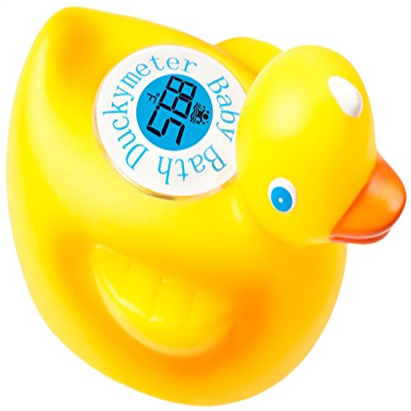 Duckymeter, the Baby Bath Floating Duck Toy and Bathtub Thermometer by OZERI