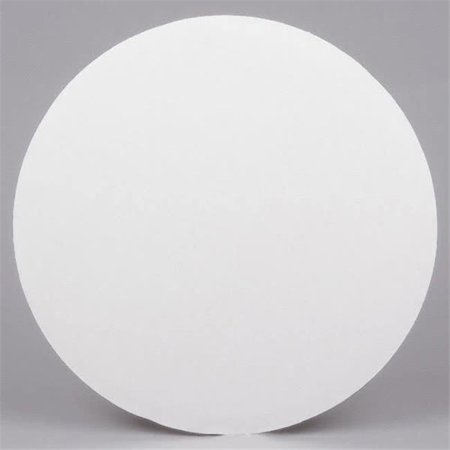 Die-Cut 18CIRCLE CPC 18 in. Corrugated Grease Proof White Cake Circle, Case of 125