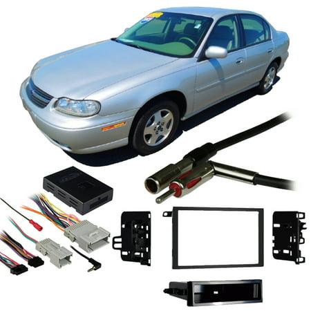 Fits Chevy Malibu 2001-2003 Double DIN Stereo Harness Radio Install Dash Kit