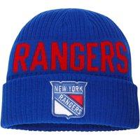 New York Rangers Fanatics Branded True Classic Bold Cuffed Knit Hat - Blue - OSFA