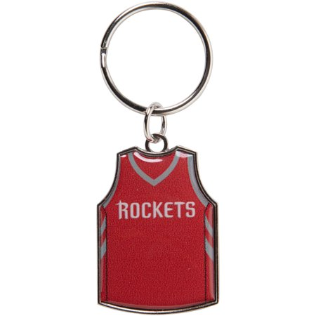 Houston Rockets Reversible Home/Away Jersey Keychain - No Size