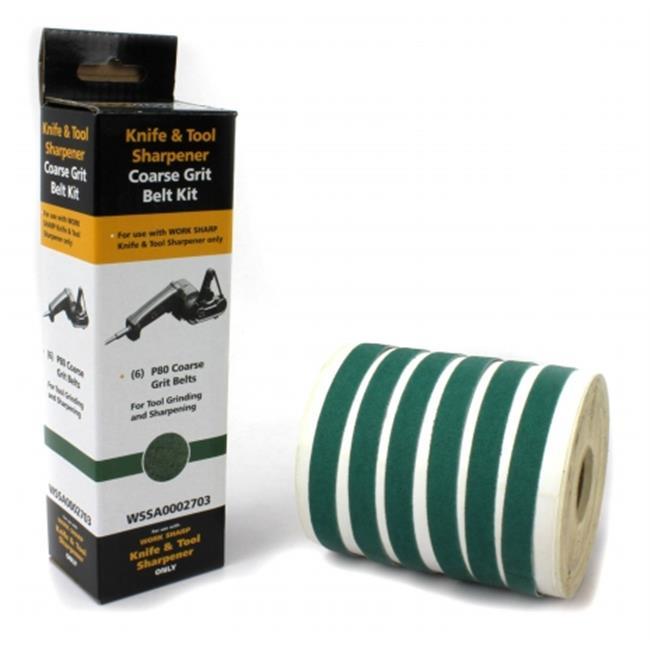 Boker 09DX011 Work Sharp P80 Ceramic Oxide Abrasive Belt