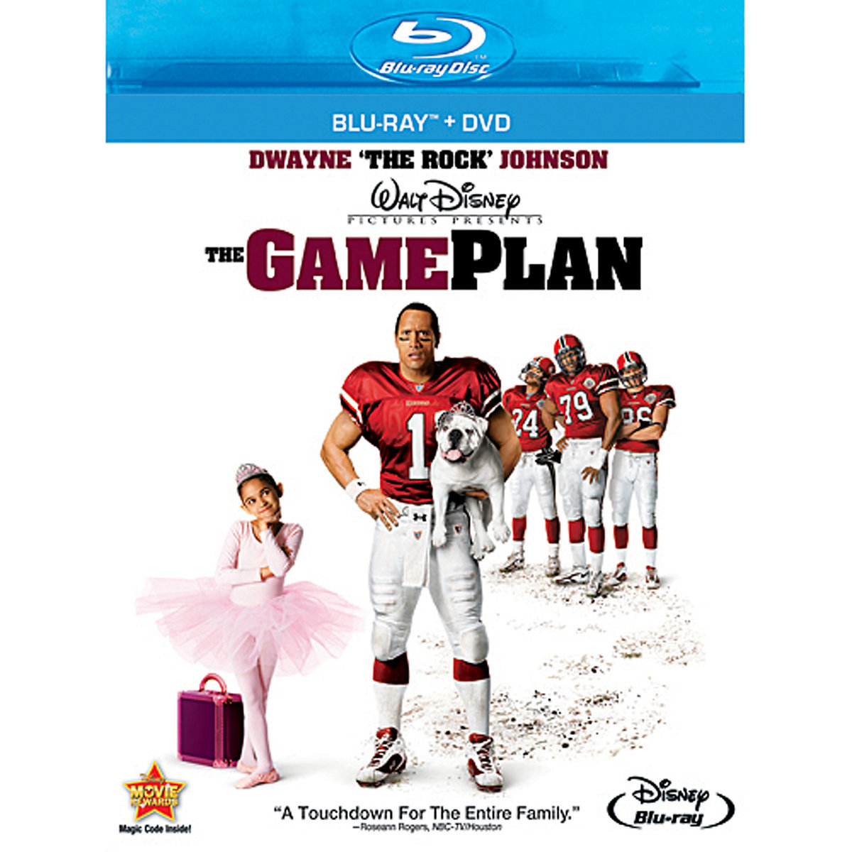 The Game Plan (Blu-ray + DVD)