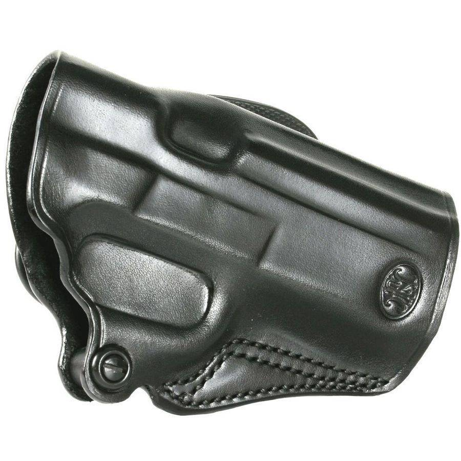 FN SPD480B Holster Black FNP/X/9/40 9mm Leather Belt Lock