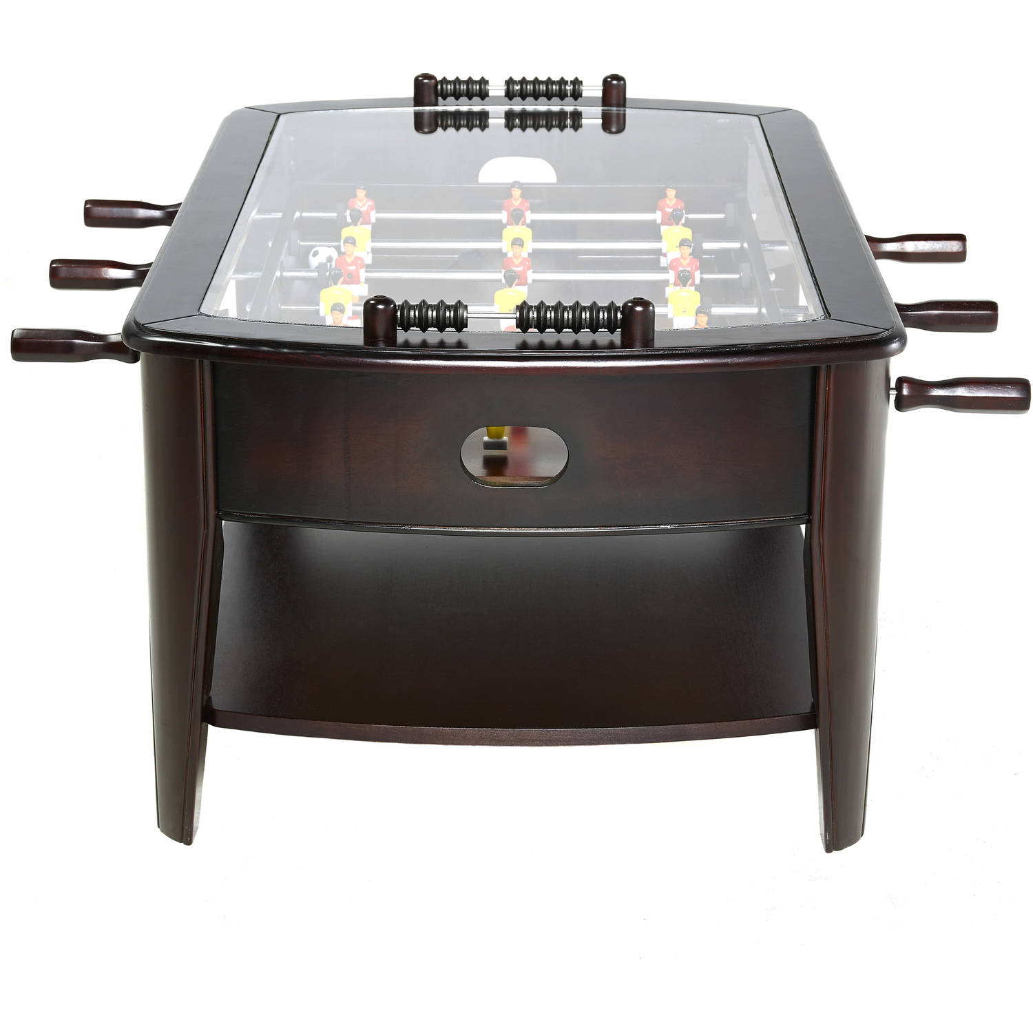 Barrington 42 inch wooden foosball coffee table walmart geotapseo Image collections