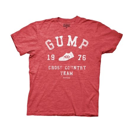 Forrest Gump 1976 Cross Country Team Heather Red
