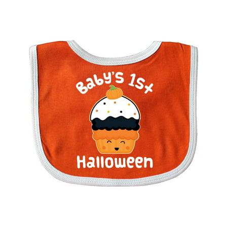 Halloween Cupcake Cute Holiday Baby Bib