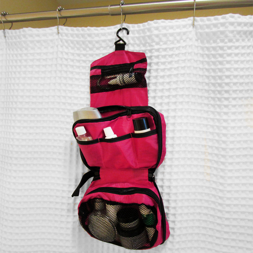 Evelots Travel Hanging Portable Toiletry Bag Organizer Shower Caddy ...