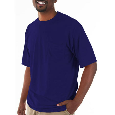 - Mens Classic Short Sleeve T-Shirt with Pocket