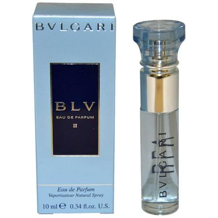 Bulgari Bvlgari Blv Ii Womens 034 Ounce Eau De Parfum Spray Mini