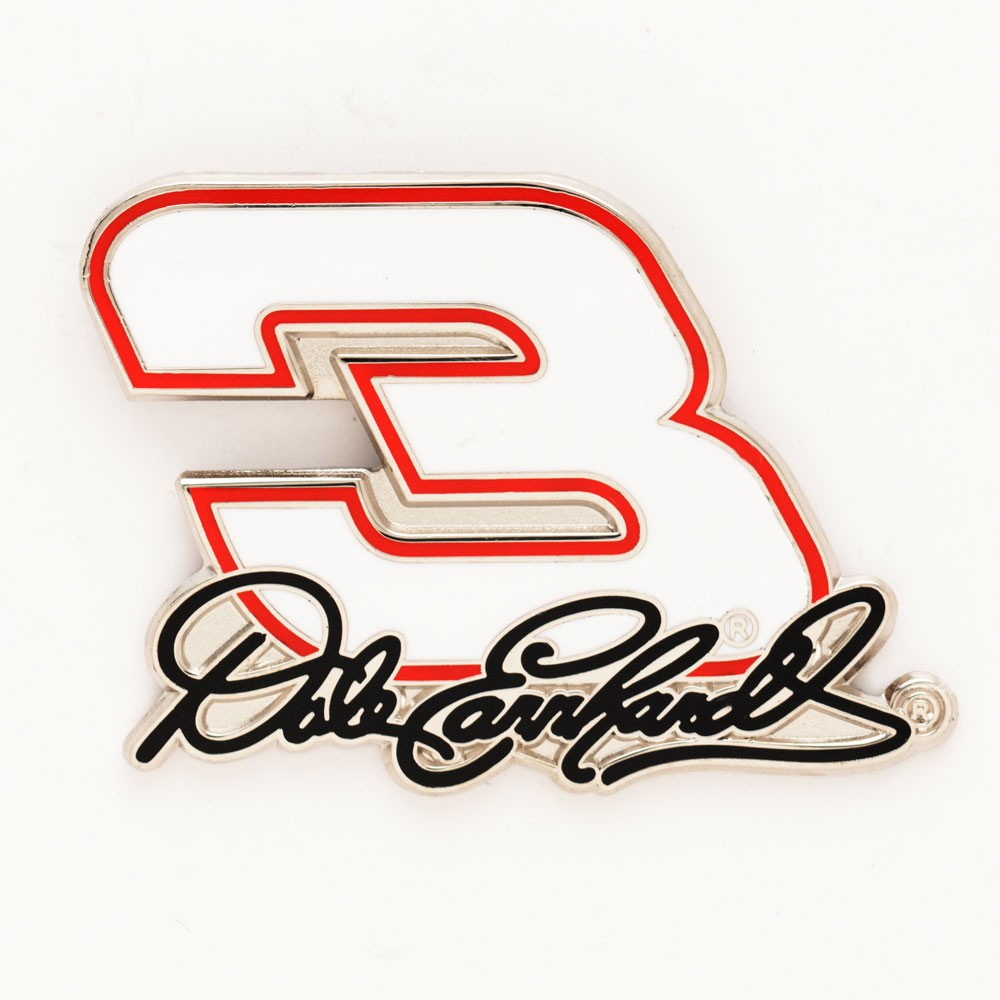 Dale Earnhardt Official NASCAR 1 inch  Lapel Pin by Wincraft
