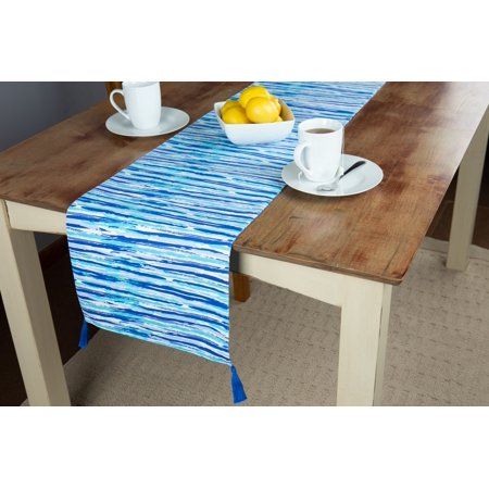 Discontinued Runners (Discontinued - Last Chance Clearance! Mainstays Abstract Nautical Table Runner,)