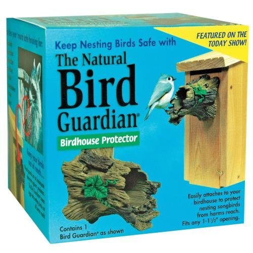 The Natural Bird Guardian Birdhouse Protector, Protect The Birds In Your Yard!