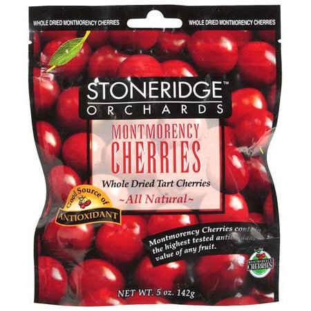 Stoneridge Orchards Organic Whole Dried Montmorency Cherries  6X5oz