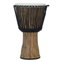 "Pearl PBJVR14698 14"" Rope Tuned Djembe - Zebra Grass"