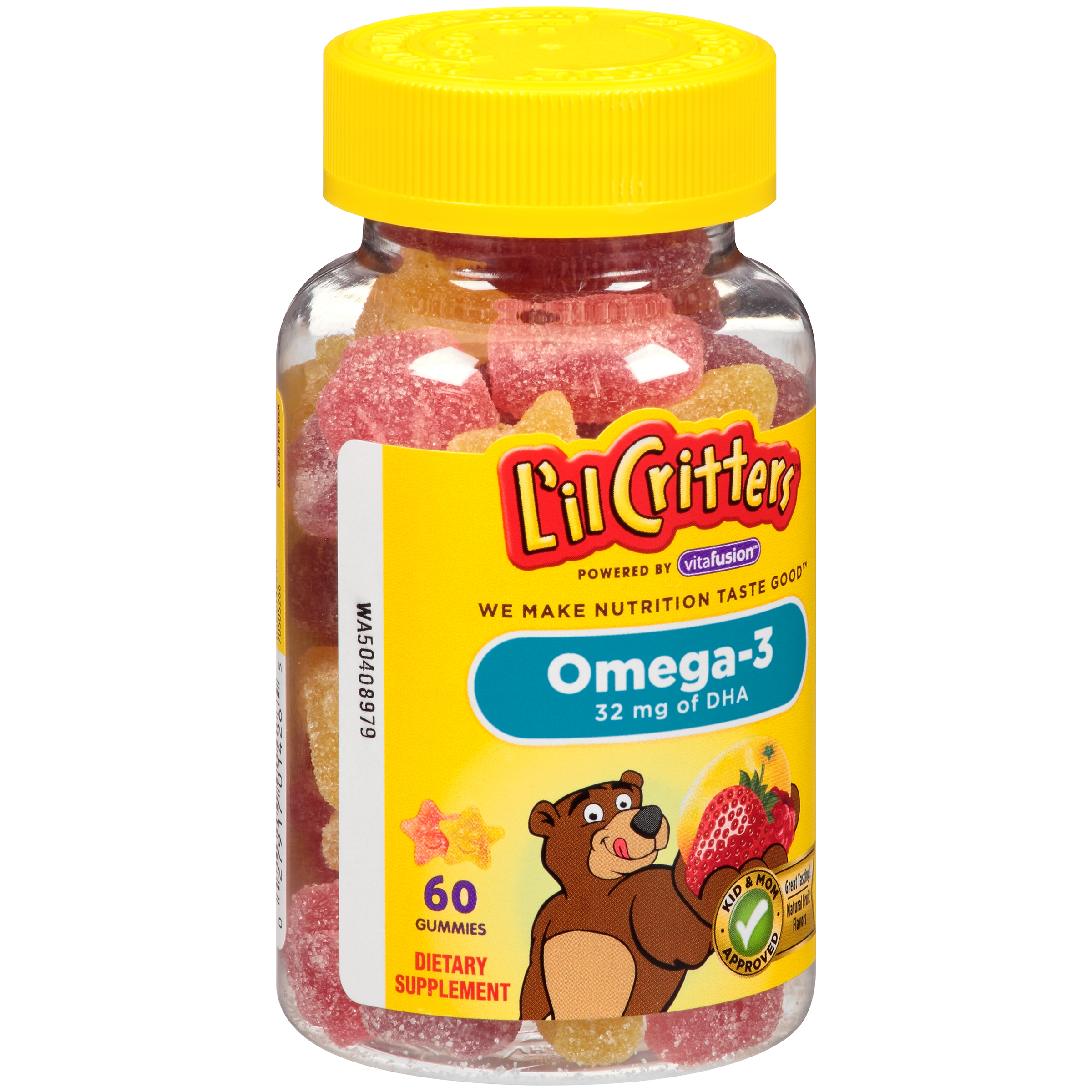 L'il Critters Omega-3 Gummy Fish, 60 ct