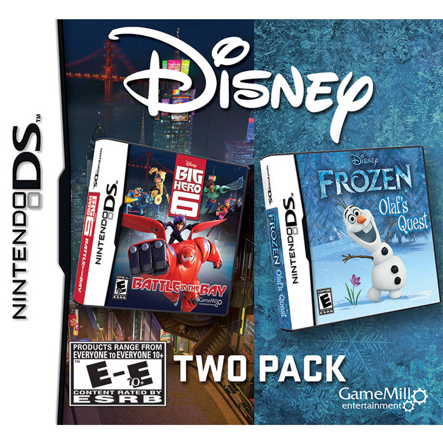 Frozen & Big Hero 6 2 Pack (DS)
