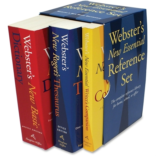 Houghton Mifflin Company Webster's New Essential Reference Set 1020842