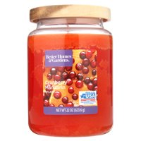 Better Homes & Gardens Cranberry Mandarin Splash 22 oz. Jar Candle