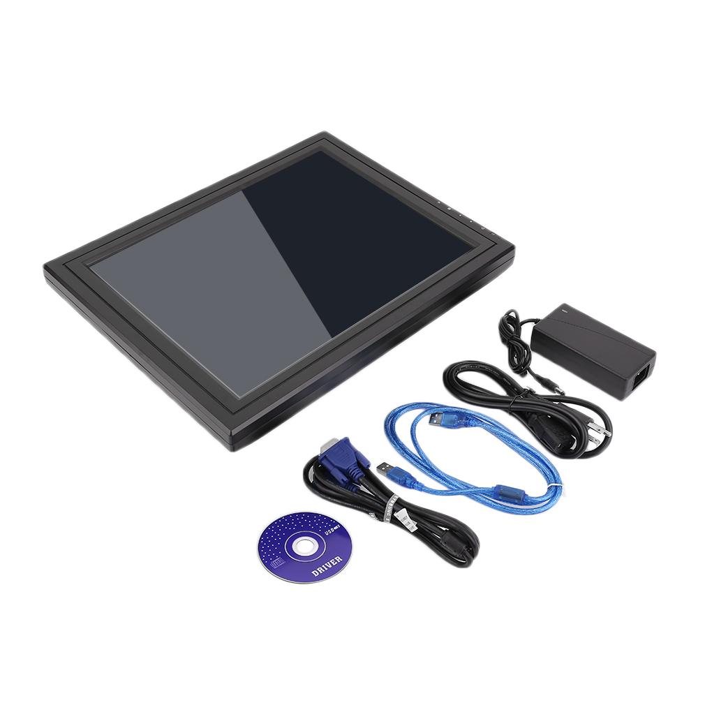 "15"" Super Thin Ligheweight Fast Speed Meal Ordering Machine Monitor with LCD Touch Screen"
