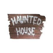 Haunted House Wall Plaque Rubies 6076