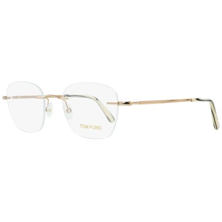 7c3665425a3 Tom Ford Rimless Eyeglasses TF5341 028 Size  49mm Rose Gold 5341 -  Walmart.com
