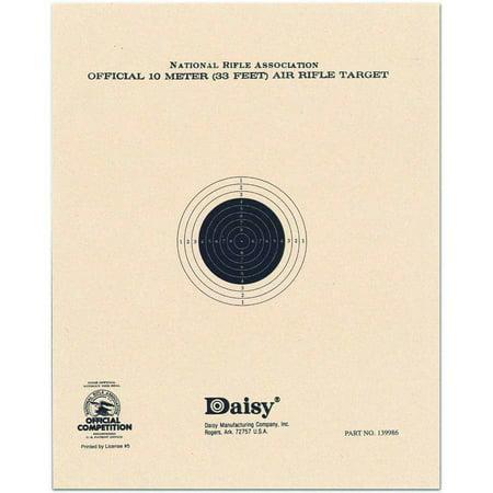 Daisy Pellet Target, Brown, 10 Meter