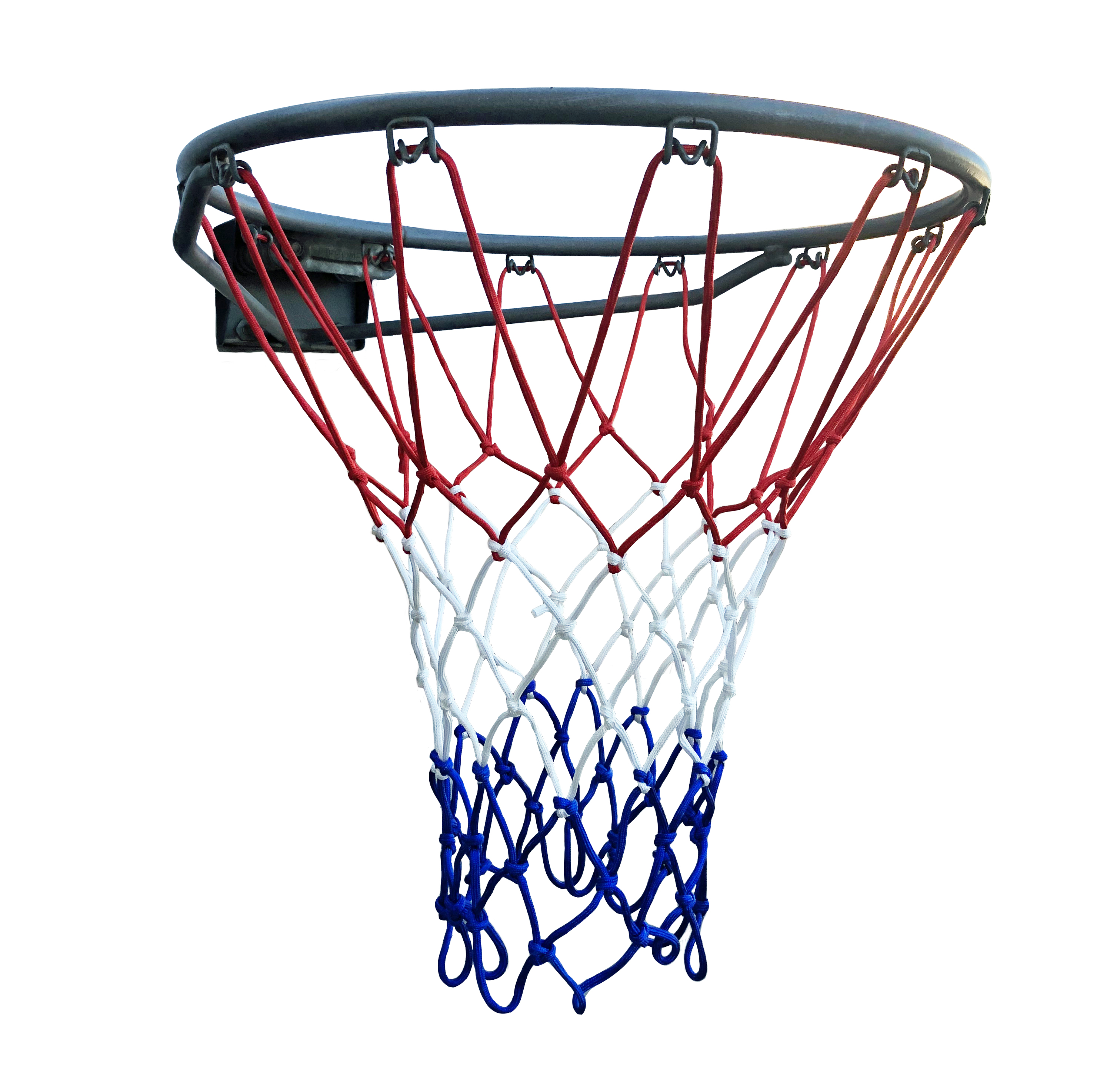 CSI Cannon Sports Nylon Basketball Net - Red/White/Blue