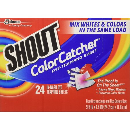 Shout Color Catcher & Washer Sheets-24 ct. (Pack of 5) - Walmart.com