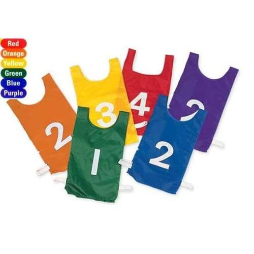 Everrich EVC-0080 20 x 11 Inch Numbered 1 - 12 Pinnies Set