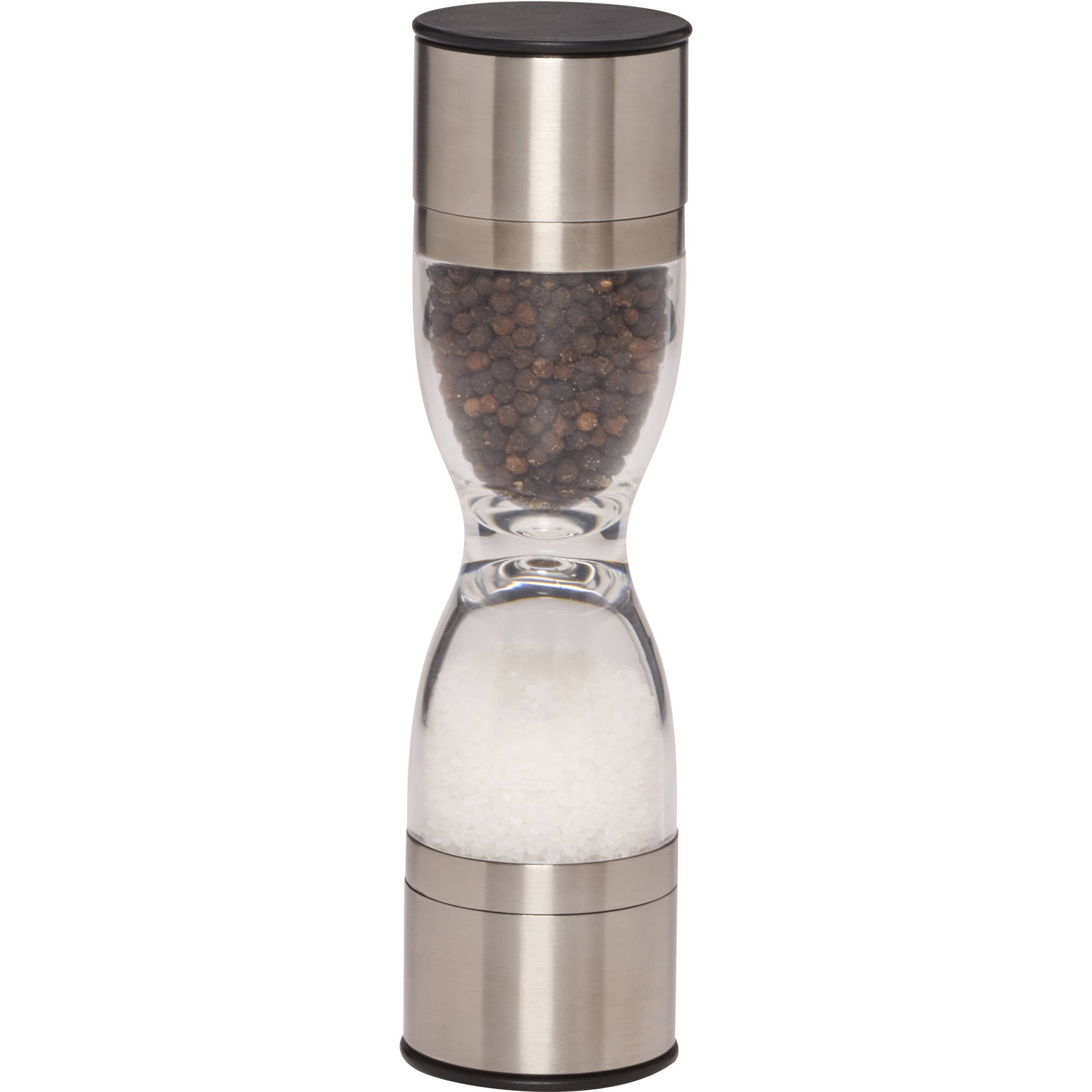 Kamenstein Holden Stainless Steel Dual Salt and Pepper Grinder by Lifetime Brands
