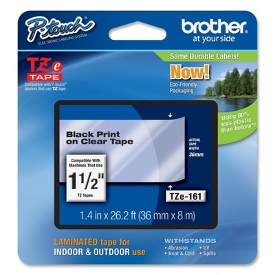 Brother TZe-161 Thermal Label BRTTZE161