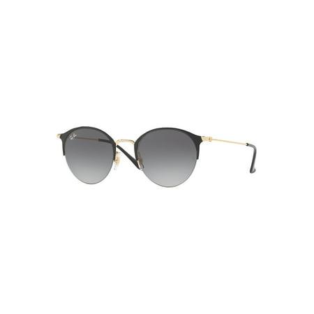 Ray-Ban Unisex RB3578 Round Metal Sunglasses, 50mm (Ray-ban Aviators Gold)