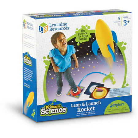 Primary Science Leap and Launch - Toy Rocket