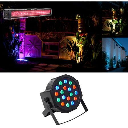 American DJ MEGA GO BAR 50 RGBA Rechargable Battery DMX Wash Light+Free  Rockpar