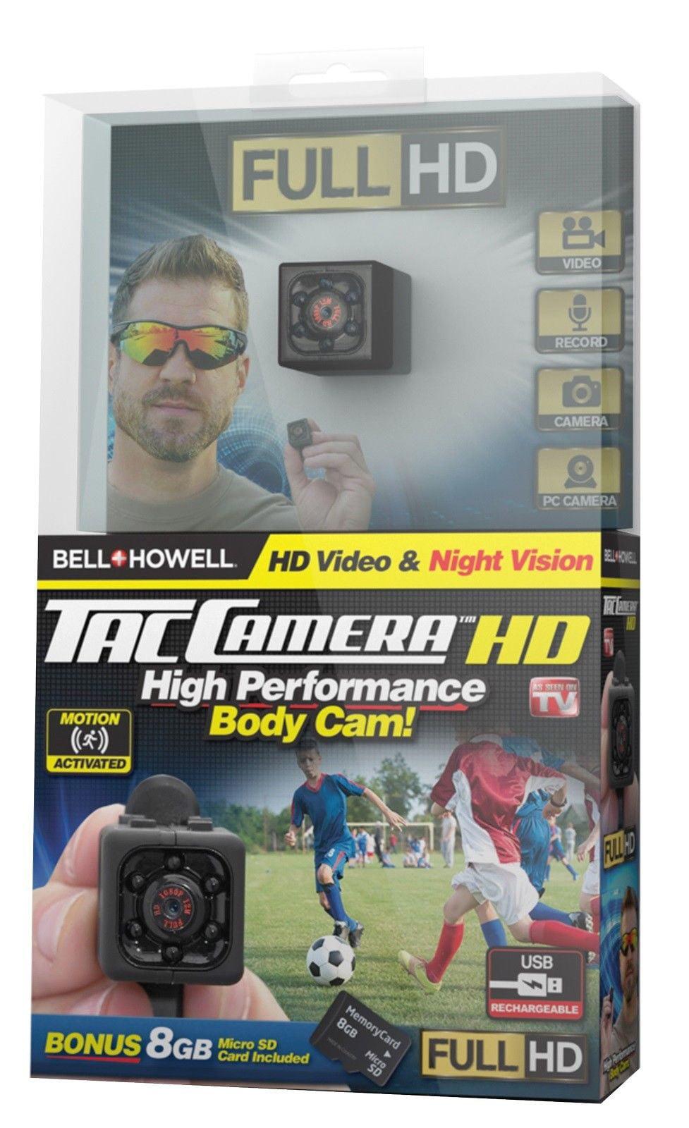 bell   howell tac camera