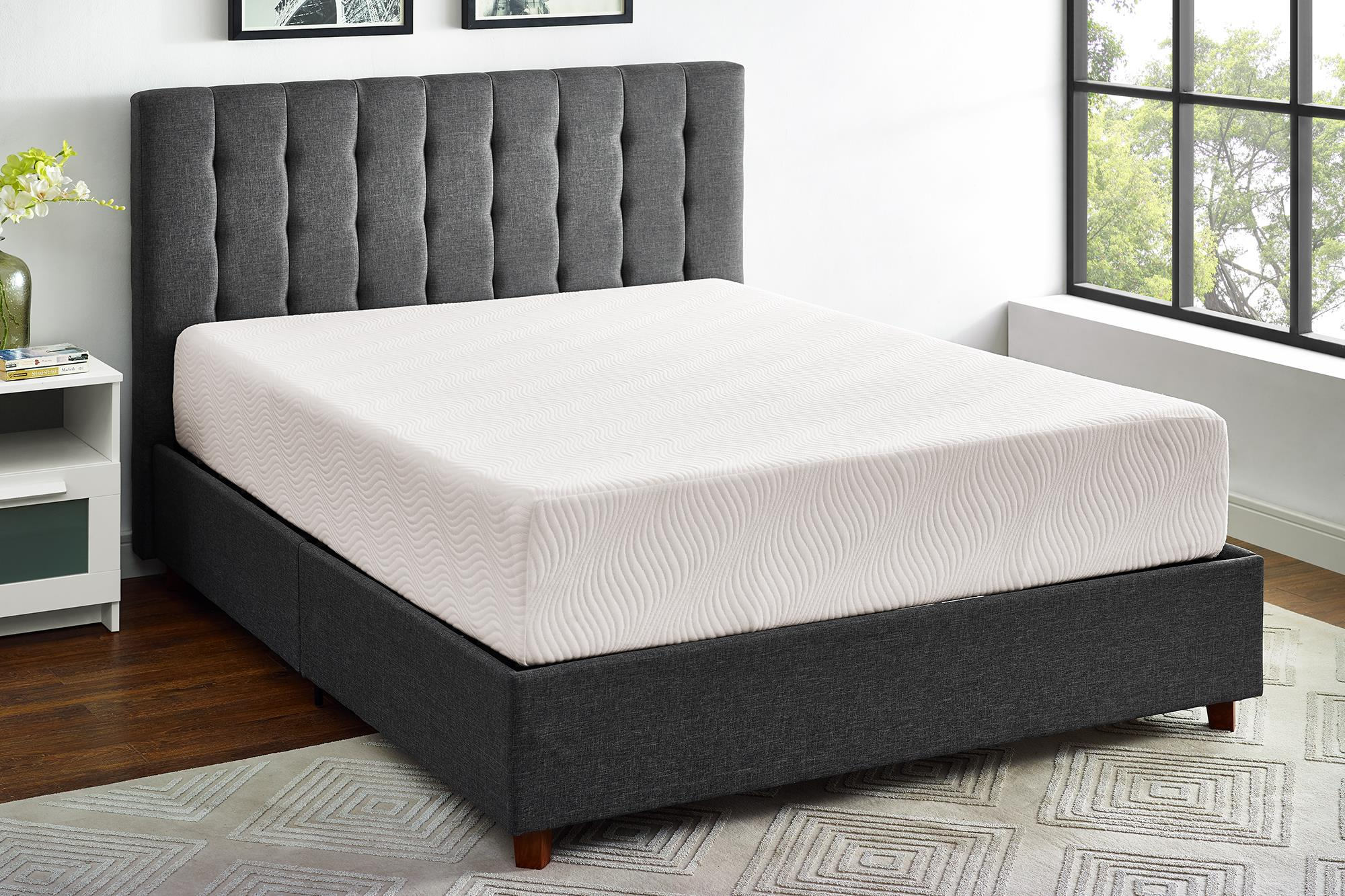 "mainstays 10"" memory foam mattress queen size with certipur-us"