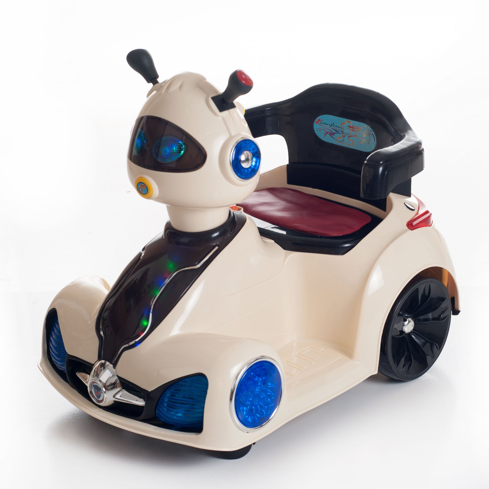 Ride on Toy, Remote Control Space Car for Kids by Lil' Rider Battery Powered, Toys for... by Trademark Global LLC
