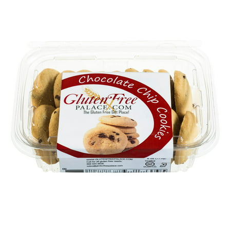 (Pack of 12) Gluten Free Palace Chocolate Chip Cookies, 6 Oz, Gluten Free Cookies, Dairy Free, Nut Free &