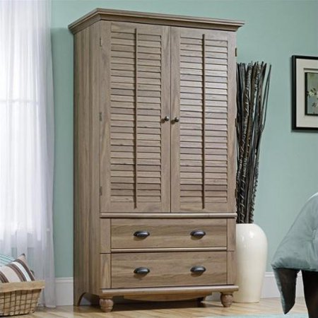Harbor view armoire salt oak for Oak harbor furniture