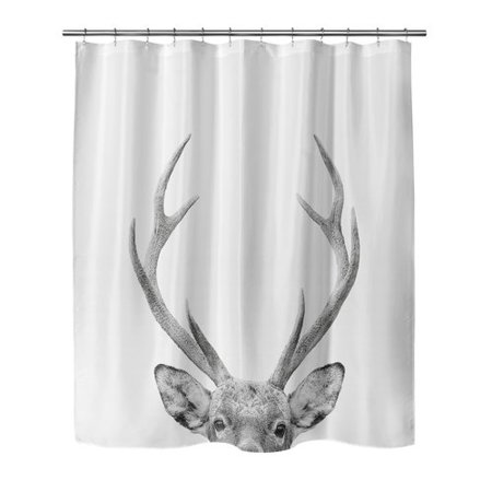 Foundry Select Applegate Deer Single Shower Curtain
