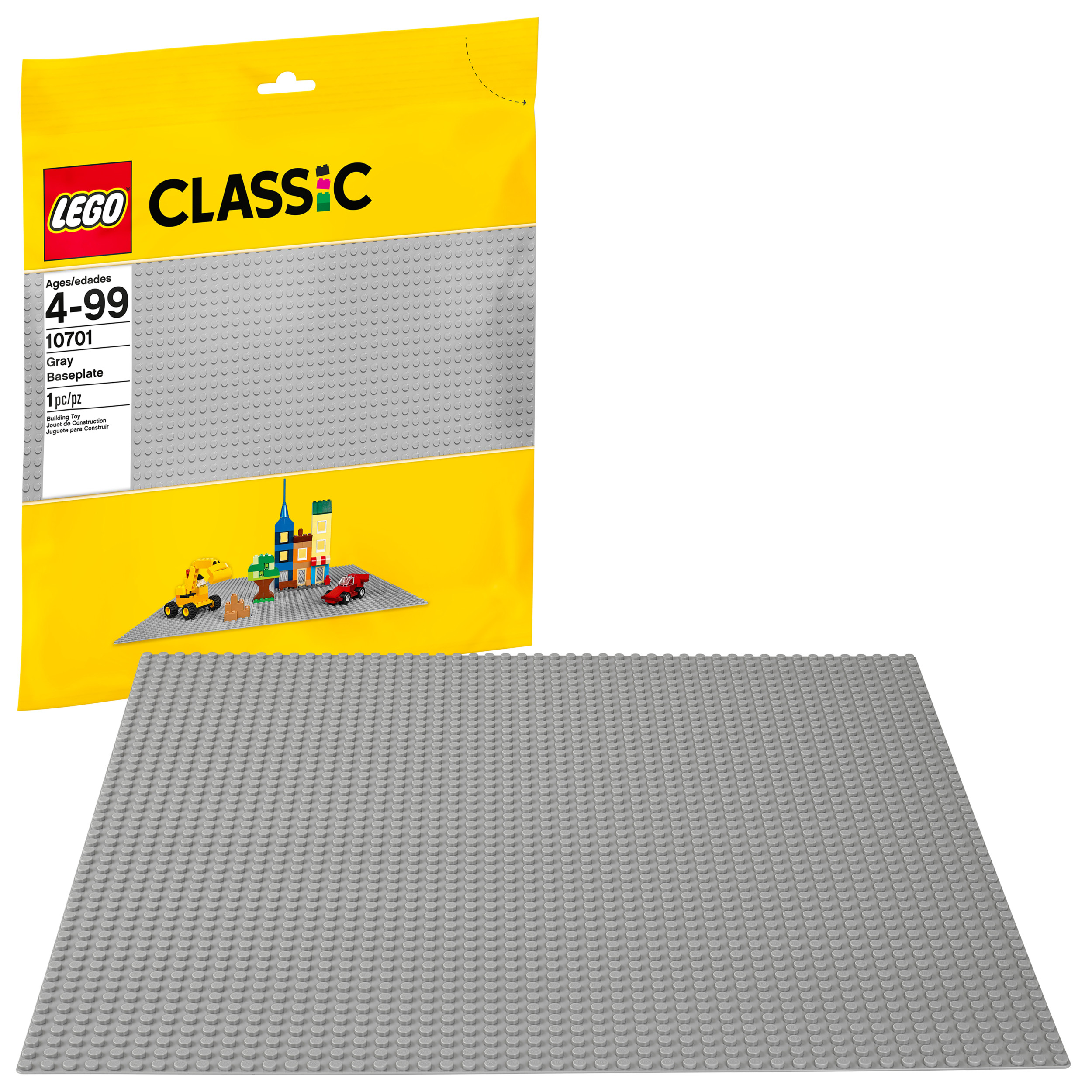 LEGO Classic Gray Baseplate