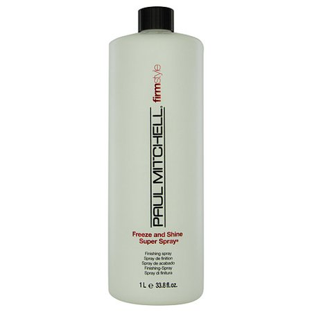 PAUL MITCHELL by Paul Mitchell - FREEZE AND SHINE SUPER FINISHING SPRAY REFILL  33.8 OZ (WITHOUT SPRAYER) - UNISEX