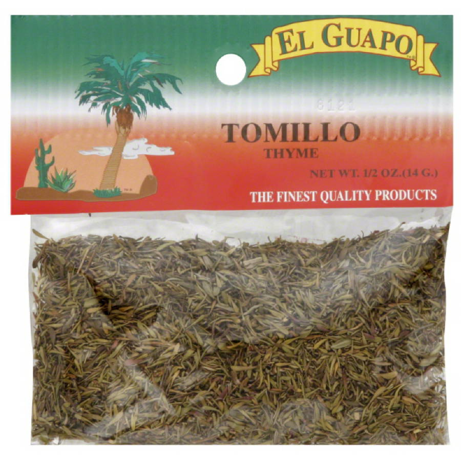 El Guapo Tomillo Thyme, 0.5 Oz, (pack Of