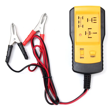 Electronic Automotive Relay Tester For Led 12v Cars Auto Battery