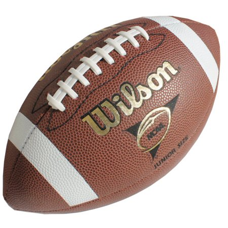 New Football Ball - NEW WILSON WTF1663B NCAA American Football Junior Size Ball Play Official Size
