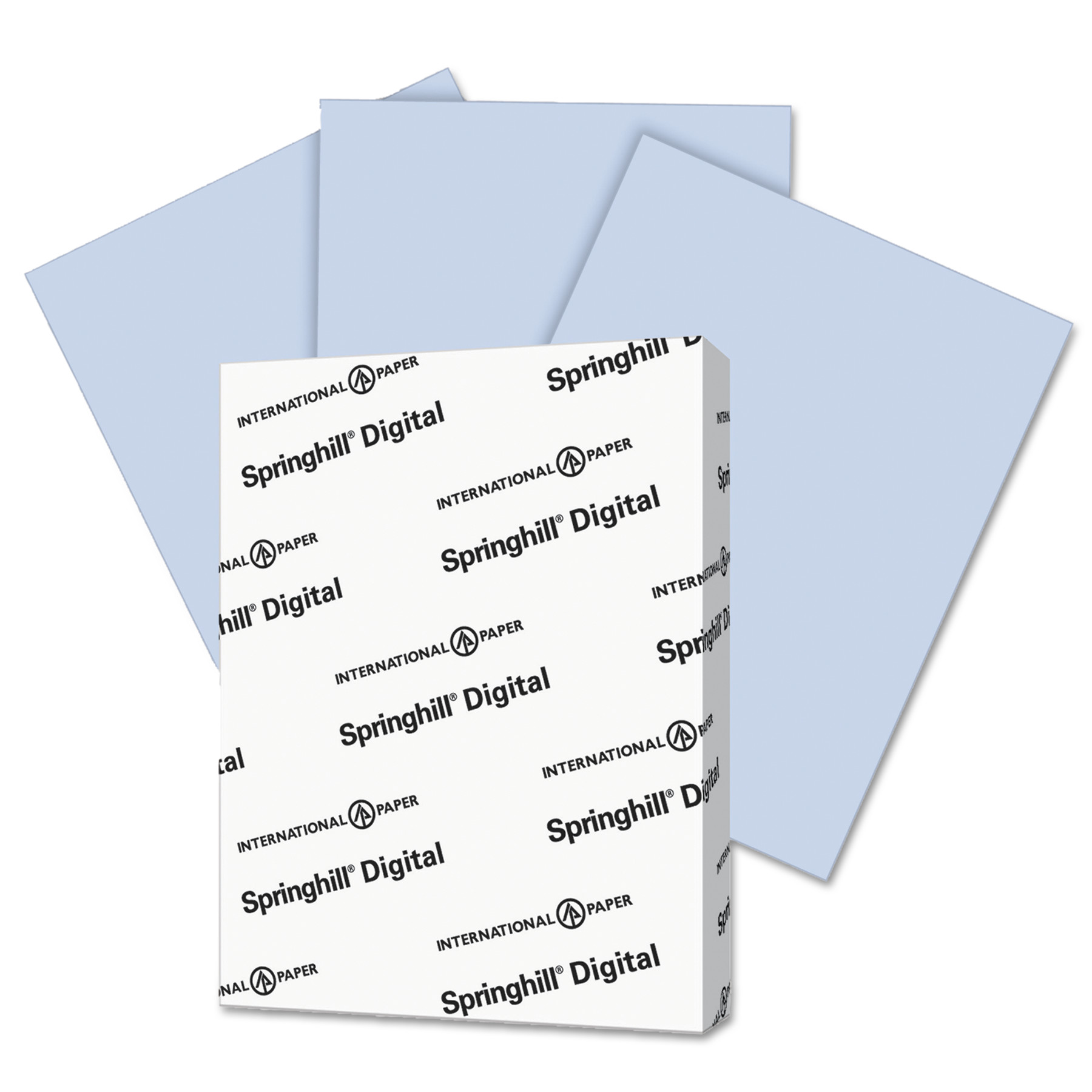 Springhill Digital Vellum Bristol Color Cover, 67 lb, 8 1/2 x 11, Orchid, 250 Sheets/Pack -SGH057000