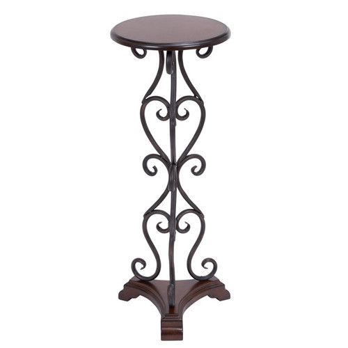 EC World Imports Basic Treasures End Table by Overstock